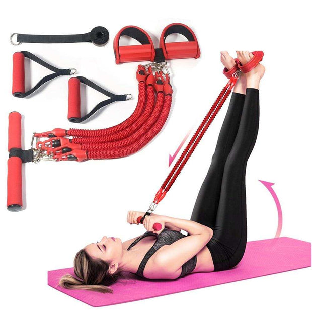 11Pcs Multifunction Sit-up Resistance Band