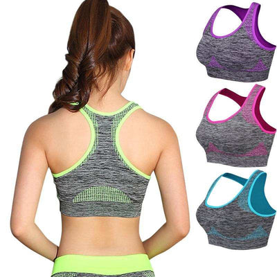 Shockproof Quick Dry Sports Bra