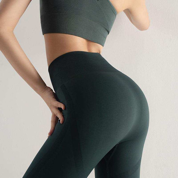 Women's High Waist Yoga Pants Tummy Control Workout