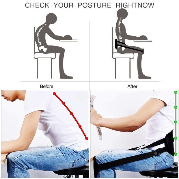 Back Posture Correction Belt Sitting Posture Corrector Back Support