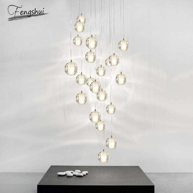 Crystal Ball Pendant Lights