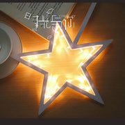 Star Shape LED Night Lamp