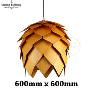 Retro Nordic Pinecone Led Pendant Lamps