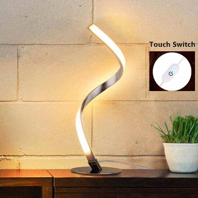 Creative Spiral LED Desk Lamp