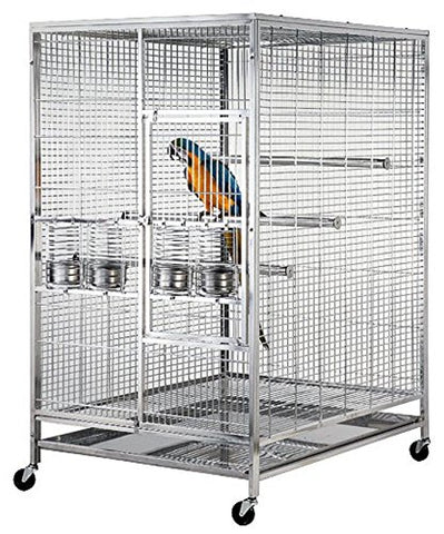 Stainless Steel Bird Cage Parrot Macow