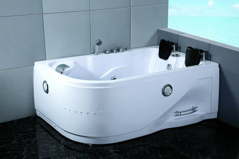 2 Person Indoor Whirlpool Hot Tub Massage Bathtub 052A WHITE