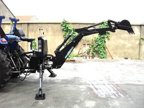 Bh7600 3 Point Hitch Pto Hydraulic Backhoe Excavator