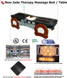 FIR Far Infrared Jade Therapy Massage Bed / Spinal Traction Table