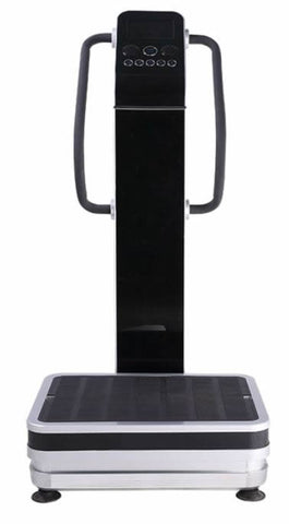 Professional 1500w Dual Motor Full Body Vibration Plate Exercise Machine w/  Speakers + Aluminum Alloy Base Housing