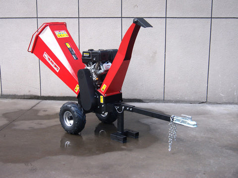 15HP Gas Gasoline Powered Wood Chipper Shredder Mulcher