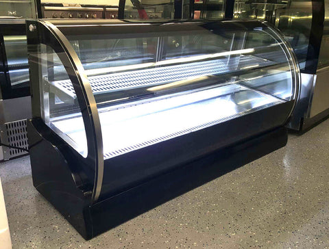 "59"" Display Case Countertop Refrigerator Cake Display"