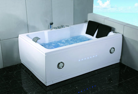 2 Person Indoor Whirlpool Jetted Hot Tub Spa Hydrotherapy Massage Bath Sdi Factory Direct Wholesale