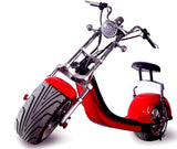 2000W Electric Wide Fat Tire Scooter Chopper / Harley Design Electric Bike eBike Moped