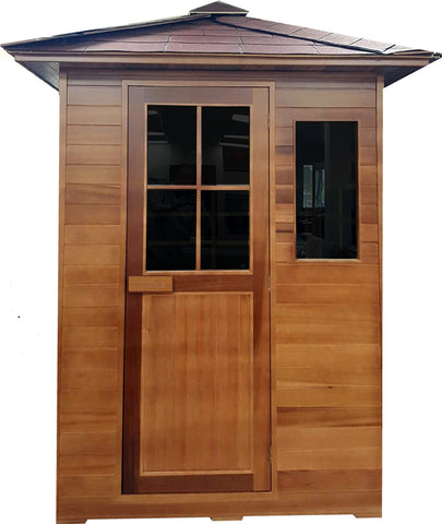 3 Person Infrared Outdoor Sauna