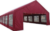 20' x 40' ft Outdoor Wedding Party Tent Gazebo Carport Shelter Garage RED 20x40