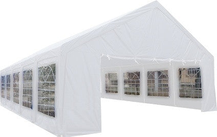 20' x 40' ft Outdoor Wedding Party Tent Gazebo Carport Shelter Garage WHITE 20 x 40 20x40