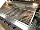 Stainless Steel Outdoor 8 Burner BBQ Propane Natural Gas Grill Backyard