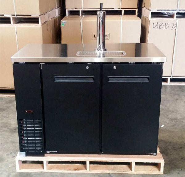 48 Quot Keg Beer Dispenser W Stainless Steel Top Kegerator Refrigerator Cooler San Diego Factory