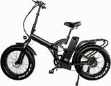 48V 750W Electric Bike Bicycle Off Road Fat Snow Tires EBike 17AH Lithium