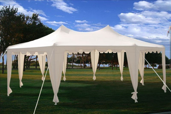 29x21 Octagonal Octagon Wedding Party Gazebo Tent Canopy