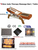 FIR Far Infrared Jade Therapy Massage Bed / Spinal Traction Table Chair