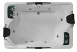 2 Person Hydrotherapy Jetted Bathtub Spa Massage Therapy Hot Tub - SYM085A