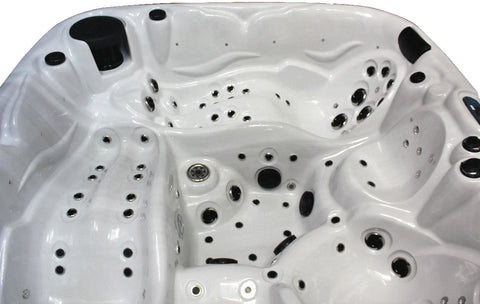 5 Person Outdoor Hot Tub Whirlpool Spa 110 Jets Double