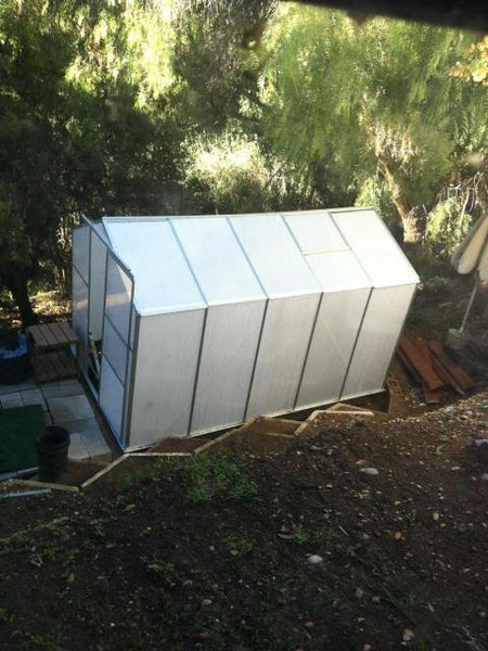Lot Of 10 Aluminum Frame Greenhouses Model 610 San Diego Factory Direct Wholesale
