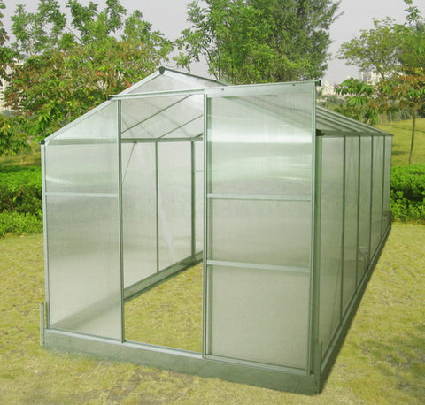 Lot of 10 Aluminum Frame Greenhouses Model 610