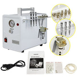 Nova Microdermabrasion Diamond Dermabrasion Facial Care Beauty Equipment Free Cotton Filters (nv500b)