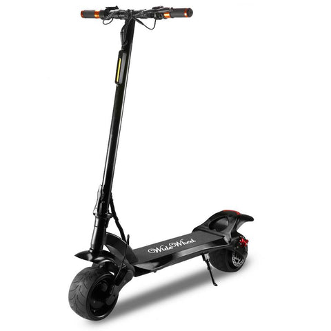 1600W 48V Double Motor Fat Tire Wide Wheel Kick Electric Scooter - Dual Motor
