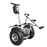 2400W 2 Wheel Off Road Electric Self Balancing DOUBLE BATTERY with Golf Bag Holder