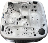 5 Person Outdoor Hot Tub Whirlpool Spa 110 Jets (Double Lounger)