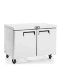 "MGF-8406 - 48"" 2 Door Undercounter Freezer Stainless Steel"