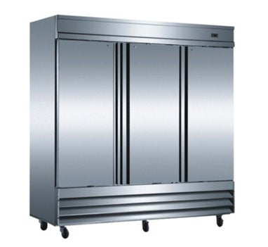 3 Door Reach In Refrigerator - CFD-3RR - Commercial Grade