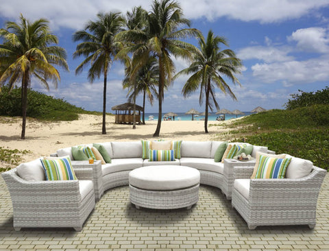 Antigua 8 Piece Piece Set Replacement Cushion Covers
