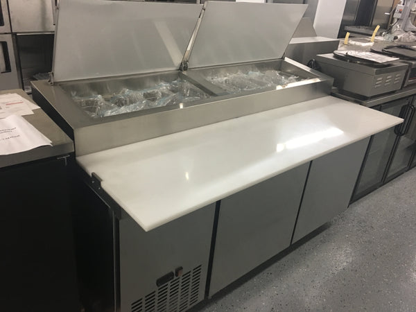 71 Quot 2 Door Commercial Refrigerated Pizza Prep Station