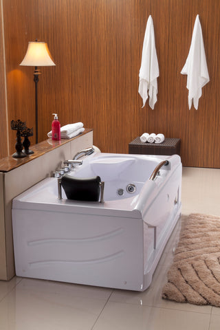 1 Person Whirlpool Jetted Hydrotherapy Bathtub Bath Tub