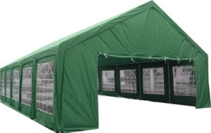 20' x 40' ft Outdoor Wedding Party Tent Gazebo Carport Shelter Garage GREEN