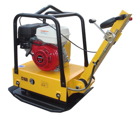 Large Plate Dirt Soil Compactor with Honda Motor and Forward/Reverse