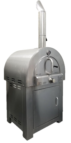 Stainless Steel Outdoor LPG Propane Gas Pizza Oven Range Grill BBQ