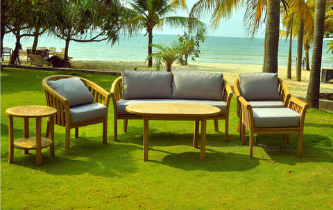 6 Piece Round Back Teak Indonesian Outdoor Patio Chair SetSan Diego Outdoor Wicker Patio Furniture   SDI Deals   tagged  . Patio Furniture Sets San Diego. Home Design Ideas