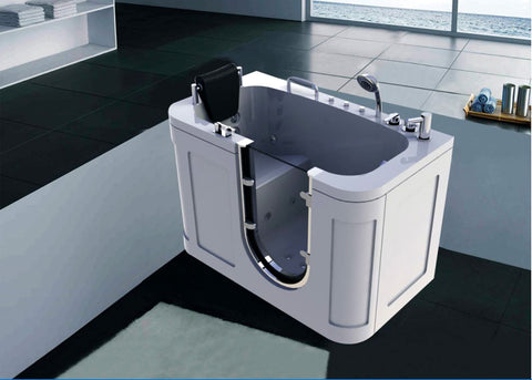 54 Deluxe Jetted Walk In Bath Tub Hydrotherapy Whirlpool Spa