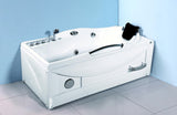 1 Person Hydrotherapy Whirlpool Jetted Massage Bathtub Spa + Heater - SYM636