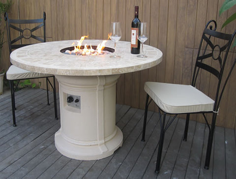 Marble Fire Pit Firepit