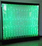 "79"" x 79"" Advanced LED Full Color Bubble Wall Panel Fountain Bar Restaurant"