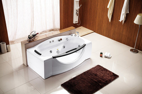Deluxe Computerized Soaking Jetted Bathtub Bath Tub Whirlpool SPA - 027A