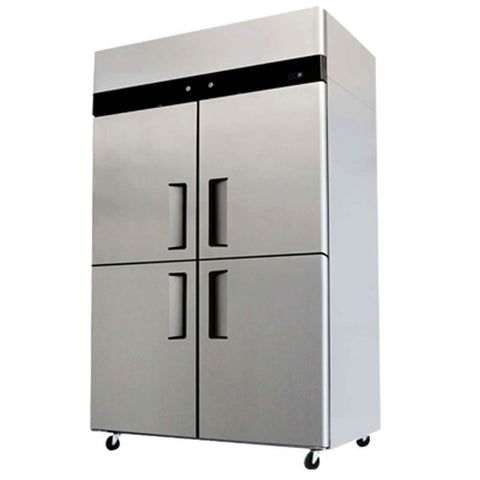 4 Door Refrigerator Freezer Combo Commercial Stainless Steel YBL9342
