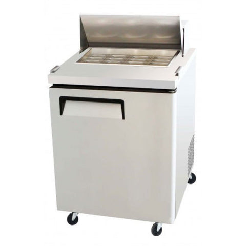 1 Door Refrigerated Sandwich Salad Prep Table MSF-8305 Commercial Stainless Steel