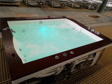 27 Jet Indoor 2 Person Whirlpool Hydrotherapy Massage Spa Bathtub Tub 5' x 6' Model: SYM0502A